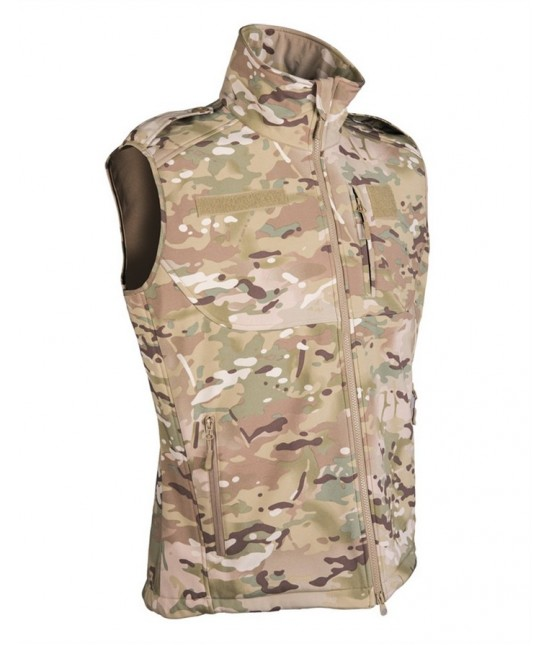Gilet Softshell Multitarn
