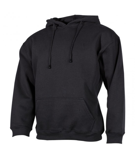 Sweat Shirt Capuche Noir