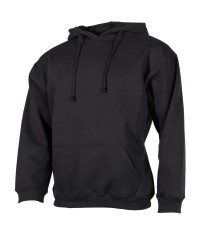 Sweat Shirt Capuche Noir