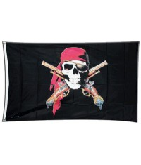 Drapeau Pirate Pistolets