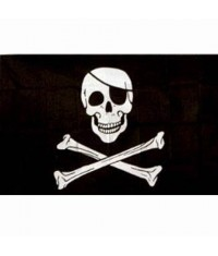 Drapeau Pirate Bones
