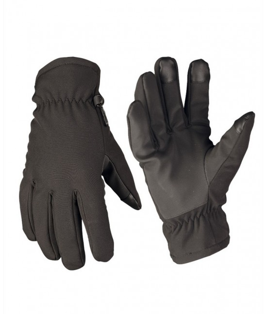 Gants Softshell Noir Thinsulate