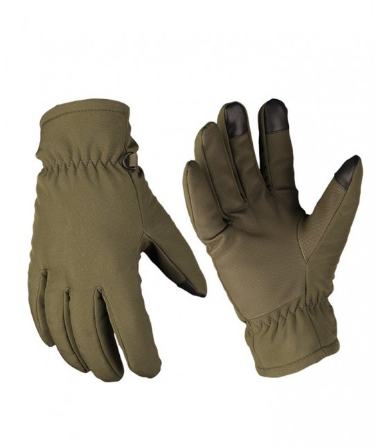 Gants Softshell Kaki Thinsulate