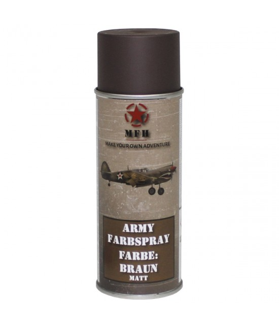 Spray Peinture 400 ml Marron