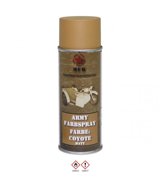 Spray Peinture 400 ml Coyote