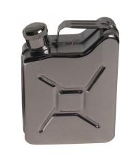 Flasque Jerrycan en acier inoxydable