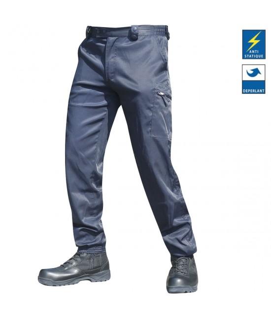 Pantalon Platinium performance Spandex Bleu