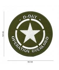 Patch tissu DDAY Etoile des Alliés