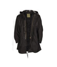 Parka US M-51 Fishtail fieldjacket NOIR