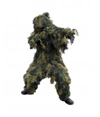 Tenue Ghillie Anti Feu woodland