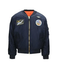 BOMBERS MA-1 FLYING JACKET BLEU Adulte