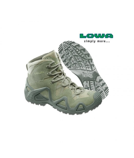 CHAUSSURES/RANGERS LOWA Zephyr GTX Mid TF - Sage Green
