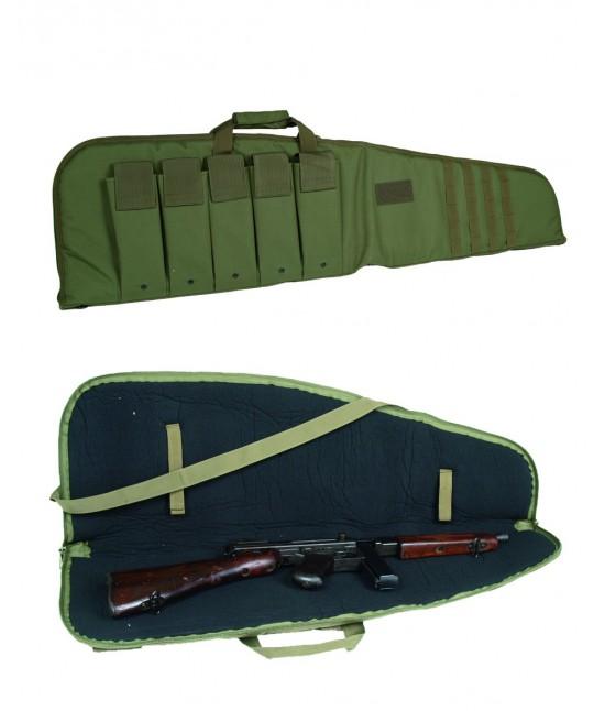 Housse Transport Fusil avec Pochettes 120 cm