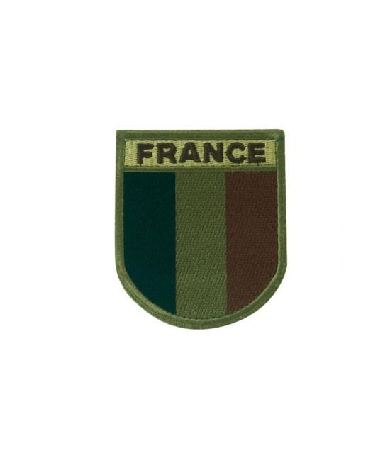 Écusson France brodé Basse visibilité Nuit