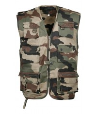 GILET JUNGLE MULTIPOCHES