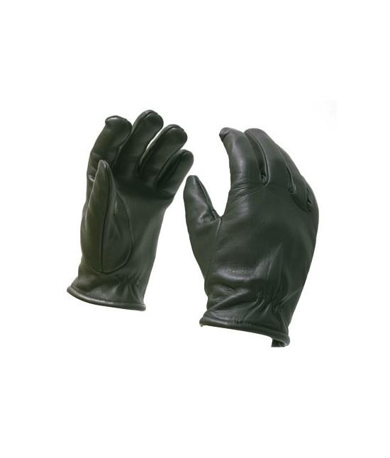 Gants Kevlar ® en cuir anti-coupure Noir