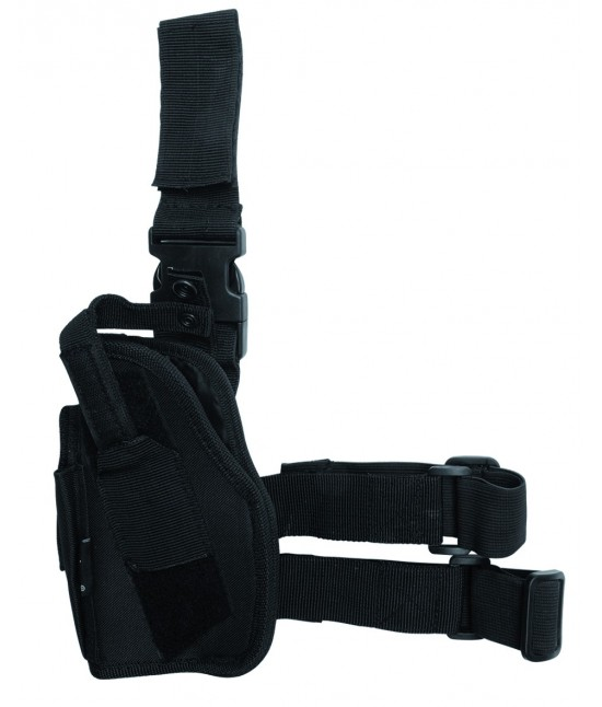 Holster de Cuisse Tactical Gaucher Noir