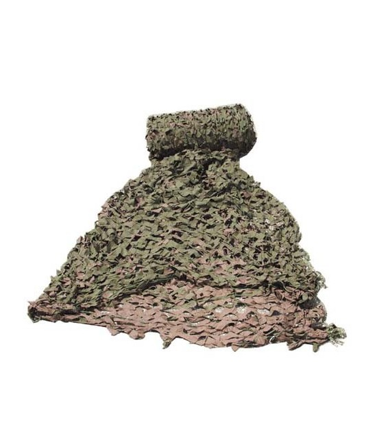 FILET DE CAMOUFLAGE NVA KAKI/MARRON - 6 x 3 m