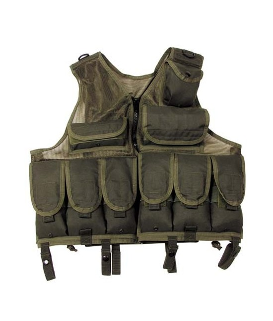 Gilet Tactical 9 poches molle