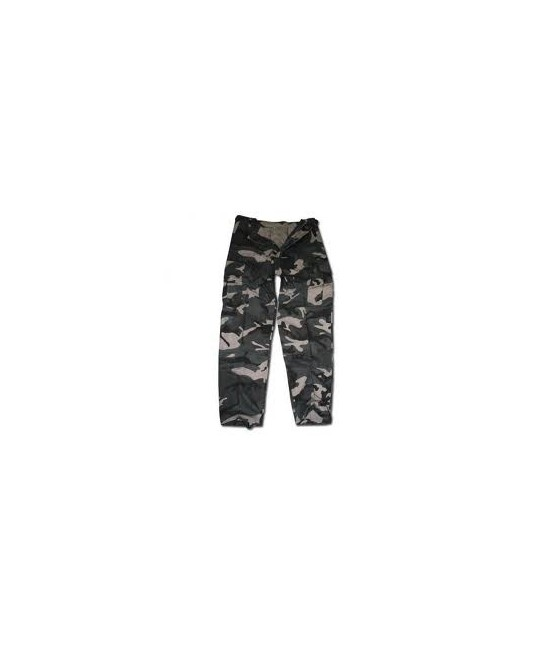 PANTALON US RANGER TYPE BDU - DARK CAMO