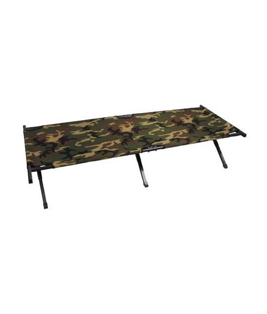 Rando Camp Lit Kaki Militaire Us Type Aluminium Picot Camo qq8rxd
