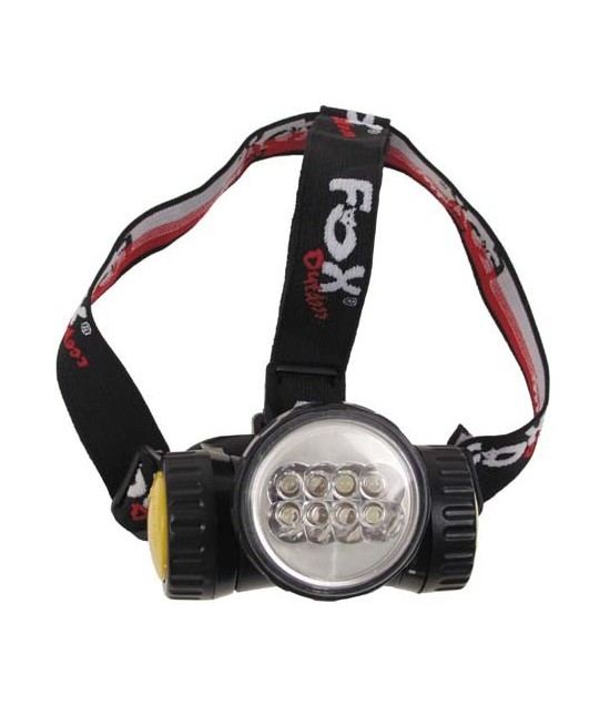 LAMPE FRONTALE FOX - 8 LED