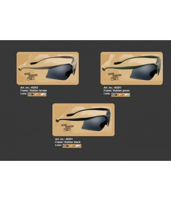 LUNETTES TACTIQUES SWISS EYE ® STINGRAY M/P