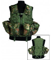 GILET TACTICAL MODULAR SYSTEM 8 poches Molle