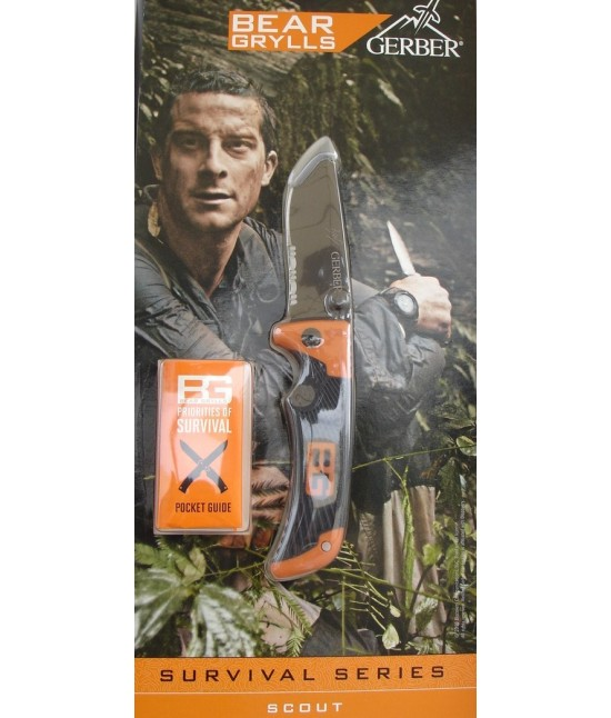 COUTEAU SCOUT BEAR GRYLLS