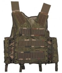 GILET TACTICAL - 9 poches Molle