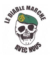 SWEAT SHIRT LEGION - LE DIABLE MARCHE AVEC NOUS