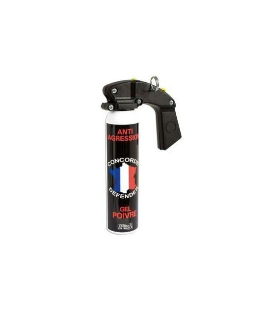 AÉROSOL CONCORDE DEFENDER GEL POIVRE - 300 ml