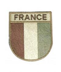ÉCUSSON BRODÉ FRANCE - DÉSERT