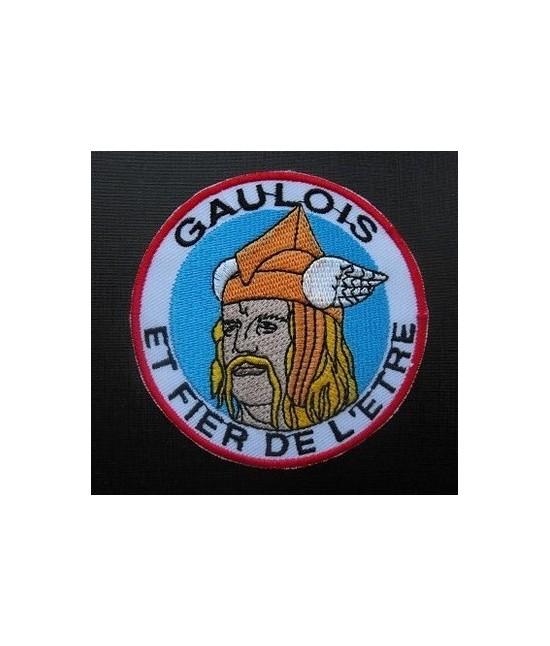 Patch Gaulois et Fier de l'Etre