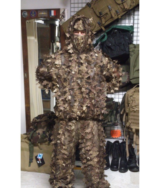 Tenue Ghillie Recon Hunter Marron