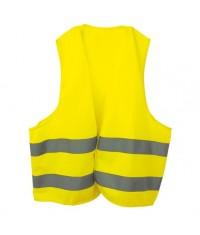 gilet fluorescent fluo jaune haute visibilite voiture chasse. Black Bedroom Furniture Sets. Home Design Ideas