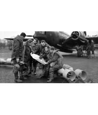BLOUSON PILOTE Royal Air Force - Cuir retourné