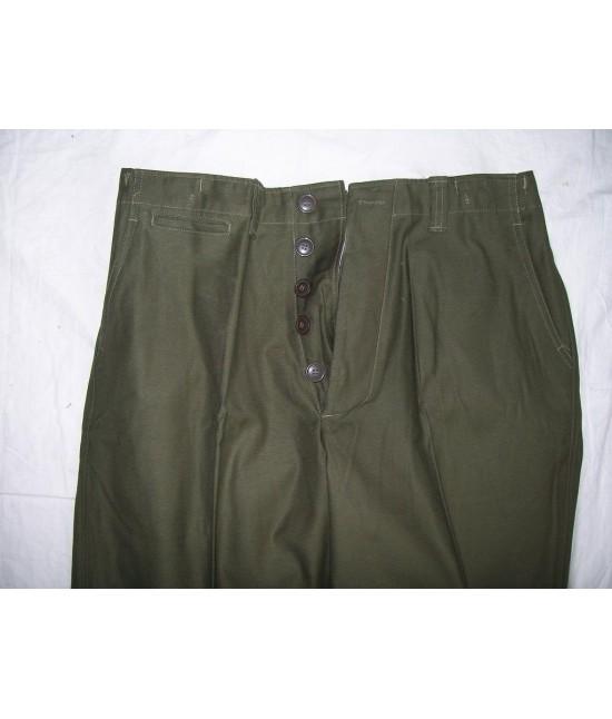 Combat Militaire 1943 Armee Pantalon Repro Reconstitution Us Vintage wPOn0k
