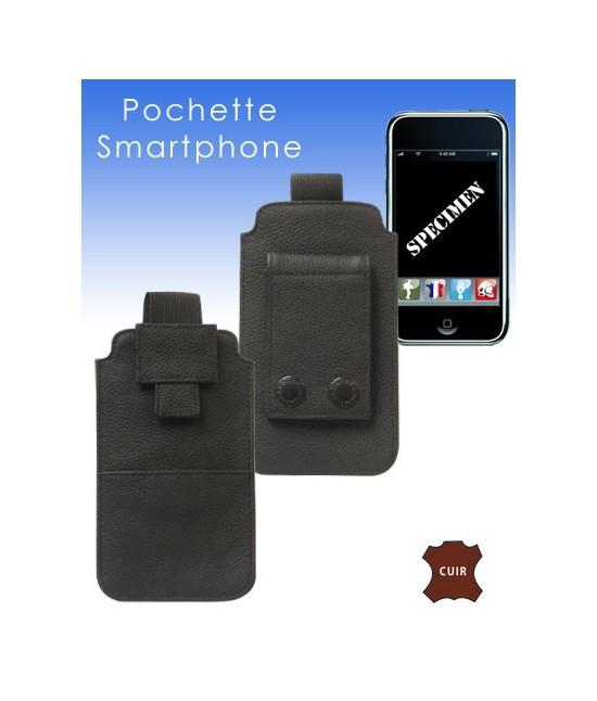 POCHETTE CUIR POUR SMARTPHONE