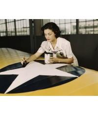 DRAPEAU USA VINTAGE - 50 STARS