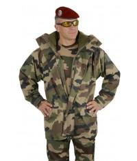PARKA POLAIRE DOUBLE CAPUCHE - TYPE OTAN
