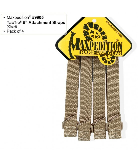 "Attaches Molle Maxpédition Tactie Long 5"" X 4"