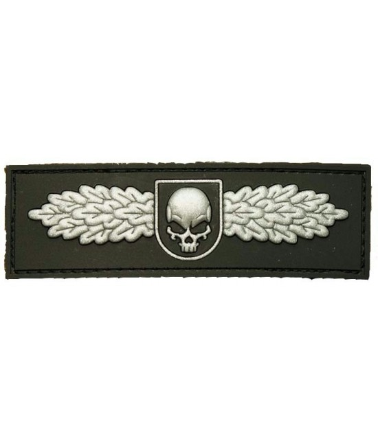 PATCH VELCRO SOF SKULL