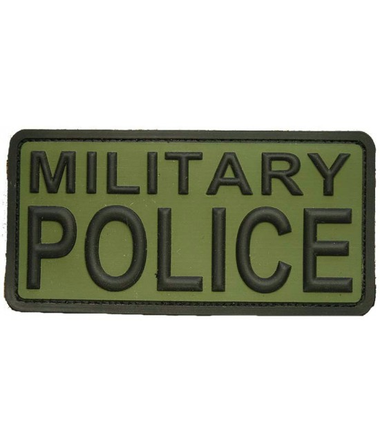PATCH VELCRO MILITARY POLICE