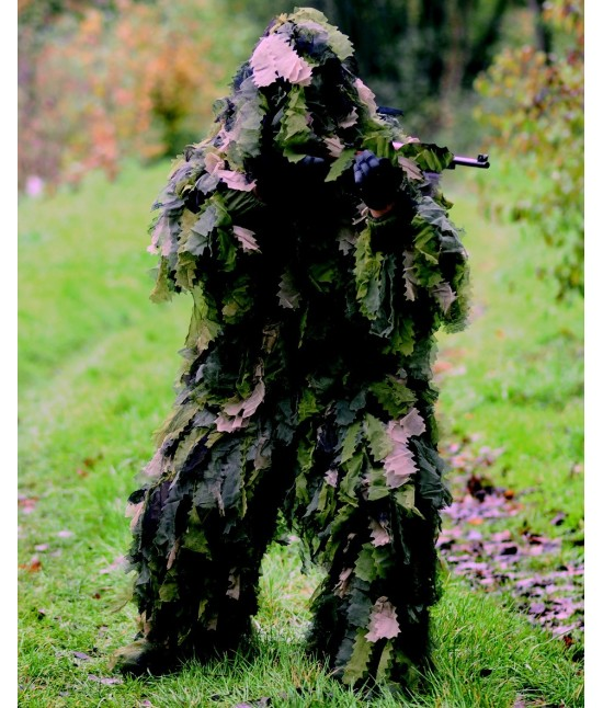 GHILLIE SUIT OAK LEAF 3D