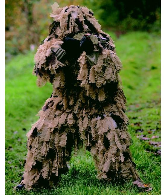 ghillie tenue de camouflage sniper camo recon feuille de. Black Bedroom Furniture Sets. Home Design Ideas