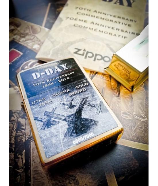 BRIQUET ZIPPO COLLECTOR 70e ANNIVERSAIRE DDay