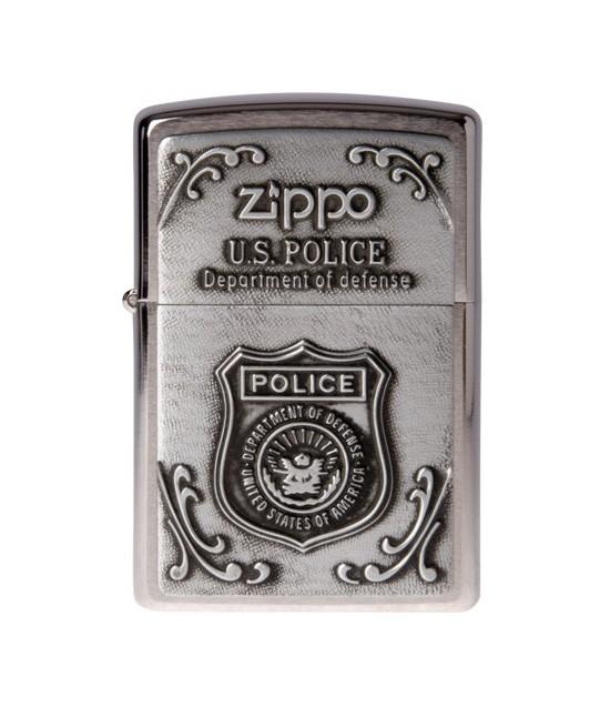 BRIQUET ZIPPO US POLICE