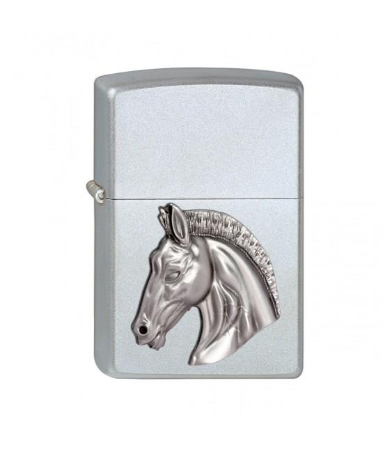 BRIQUET ZIPPO HORSE HEAD