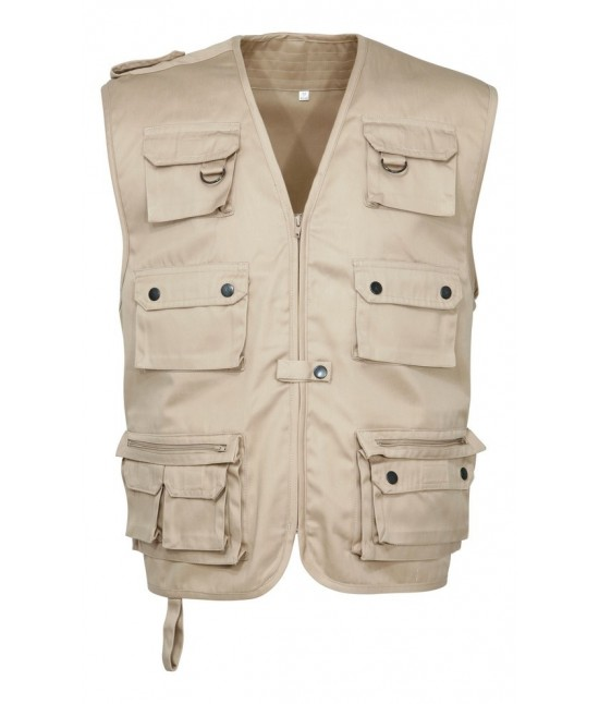 GILET REPORTER MULTIPOCHES